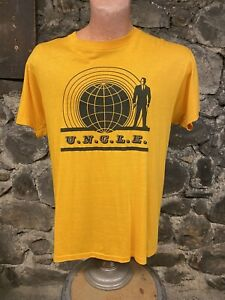 Vintage Single Stitch The Man From UNCLE tv Show tee shirt retro