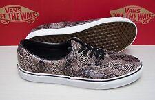 Vans Era Snake Black Khaki Men's Size 11.5