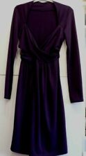 Robe manche longue made in Italy violette taille 38/40.