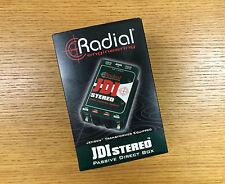 Radial JDI Stereo Passive Direct Box W/ Jensen Transformer Untouched in Box!!