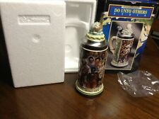 Anheuser Busch Do Unto Others Beer Stein Germany Nib Limited Edition