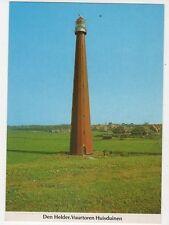 Den Helder Vuurtoren Huisduinen Netherlands Lighthouse Postcard 327a ^