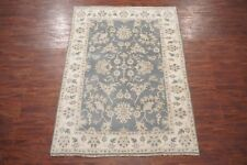 6X9 Oushak Area Rug Hand-Knotted & Vegetable Dyed Wool Carpet (6.2 x 8.10)