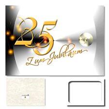 DigitalOase 25. Jubiläum Grußkarte XXL Glückwunschkarte Jubiläumskarten