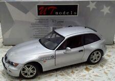 UT MODELS 1/18 BMW Z3 M COUPE' GREY RARE COLOR = AUTOART MINICHAMPS SOLIDO ANSON