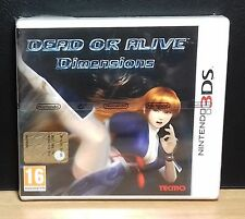DEAD OR ALIVE DIMENSIONS - Nintendo 3DS - NUOVO NEW OLD STOCK SEALED