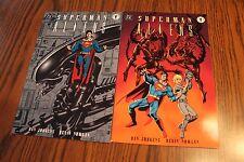 Superman Aliens Set #1 & 2 of 3 1996 NM 9.4 Dark Horse See My Store