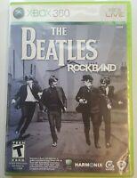 Beatles: Rock Band (Microsoft Xbox 360, 2009) with Xbox Beatles Avatar Code