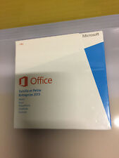 OFFICE 2013 Home and Business 2013 32/64 bits FRENCH AFRICA ONLY EM DVD original