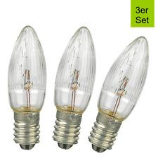 10er Set Kryptonlampe Glühbirne Fassung E10 Ersatzlampe