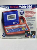 VTech Talking Whiz Kid Plus Learning Computer 1991 Vintage Complete in Box Game