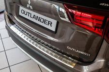 Ladekantenschutz mit Abkantung für Mitsubishi Outlander 3 III Bj. 2015-
