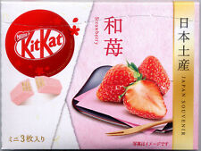 "Limited Edition KITKAT KIT-KAT ""Strawberry"" chocolate from Japan US SELLER!"
