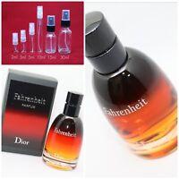 Dior Fahrenheit Le Parfum AUTHENTIC SAMPLE 2ml 3ml 5ml 10ml 15ml 30ml RARE