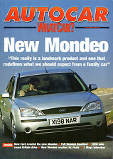 Ford Mondeo Road Test Compilation 2000-01 UK Market Brochure Autocar What Car?