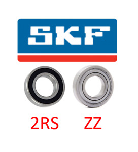 6200-6212 SKF BALL BEARING RUBBER OR METAL SEALS (2RS/2ZZ) SELECT YOUR SIZEin