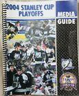 RARE VINTAGE 2004 NHL TAMPA BAY LIGHTNING  STANLEY CUP PLAYOFFS MEDIA GUIDE.!!🔥