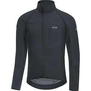 Gore Wear C7 GORE WINDSTOPPER PRO ZIP-OFF JERSEY, Black Size Small 100012 NWT