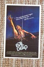 The Evil Dead Lobby Card Movie Poster