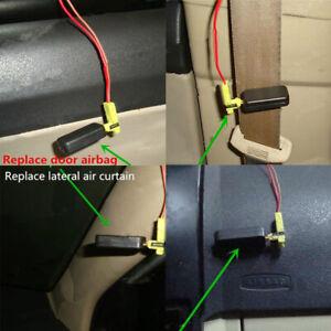 1x Car Passenger Seat Occupancy Mat Sensor SRS AIRBAG Bypass Emulator Tool