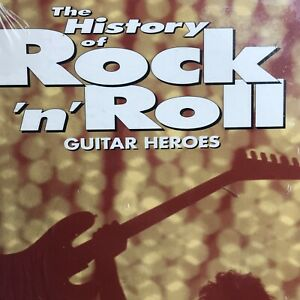 The History of Rock 'N Roll Guitar Heroes 1995 VHS Tape Music NEW Sealed