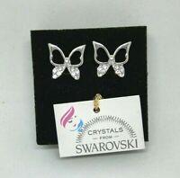 Orecchini da donna argento punto luce con cristalli swarovski originali SWORAG