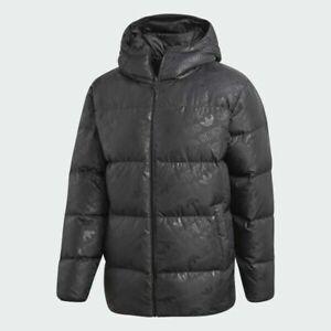 Adidas Originals MEN'S Monogram Reversible Down Fill Puffer Jacket - M L XL 2XL