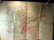 Carte, Plan, LYON  XXX-31, gravé 1908