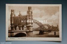 Ansichtskarte HAMBURG NEUE ELBBRÜCKE vermutlich um 1925