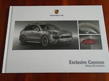 Porsche Cayenne exclusiva GAMA FOLLETO Feb 2012 hardbacked