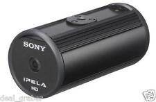 SONY SNC-CH110/B 720p HD Fixed Network Camera / 1.3MP, PoE, Black Exterior  NEW