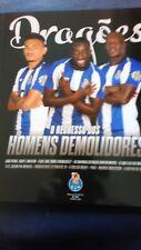Porto V Newcastle United 18 /19 Official Club Magazine