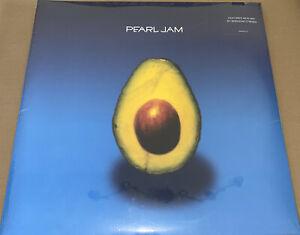 PEARL JAM! SELF TITLED LP! UK IMPORT! DOUBLE LP! FACTORY SEALED VINYL!!