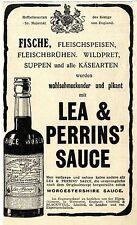 CROSSE & Blackwell Londra Lea & Perrins 'salsa storica La pubblicità di 1908
