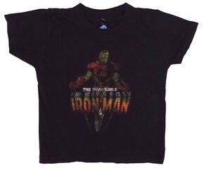 Marvel Comics Invincible Iron Man Boy's Baby Superhero T-Shirt Size 24 Months