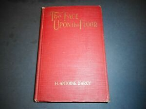 Vintage Signed Face Upon the Floor Barroom Poem Hugh H. Antoine D'Arcy c. 1918