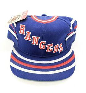 New York Rangers Twins Enterprise Vintage Jersey Style Snapback Cap Hat