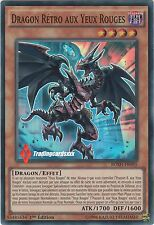 ♦Yu-Gi-Oh!♦ Dragon Rétro aux Yeux Rouges/Red-Eyes : BOSH-FR095 -VF/SUPER RARE-