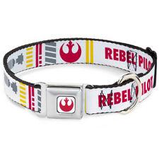 Star Wars Rebel Alliance Insignia Seatbelt Buckle Collar - Lightsaber X-Wing