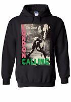 The Clash London Calling Men Women Unisex Top Hoodie Sweatshirt 1877E