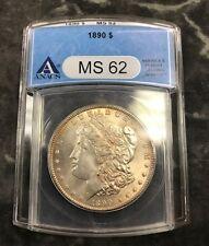 1890 Morgan Silver Dollar MS 62 (s17)