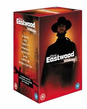 Clint Eastwood DVD Box Set Collection R4 Play Misty For Me/Joe Kidd/Two Mules +