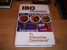 Step One IBO Introduction To Interactive Commerce (CDs 2002 + Book) Business Kit