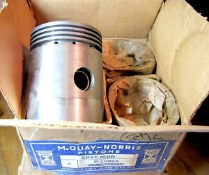 NORS 1933 1934 1935 1936 Willys 77 .030 Pistons Set of 4