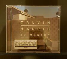 CALVIN HARRIS - 18 Months - CD Album Buy 3 CD's get cheapest free