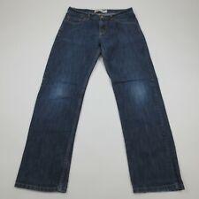 Levi's 514 18 Reg Boys 30x28 Slim Fit Straight Leg Blue Jeans Premium Denim