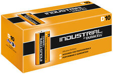 Duracell Industrial D LR20 Batteries | 10 Pack