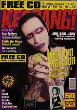 Kerrang! Magazine #649, 1997 Marilyn Manson, Fear Factory, Faith No More