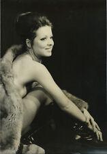 photo de presse Gamma Roberto Ferrantini / Dorette Marling pin-up actrice 1960