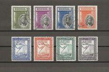 ZANZIBAR 1936 SG 323/30 USED Cat £21.50